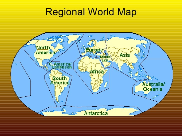 Mental map of the world cultural bias and geography quotpoliticalquot map 9 regional world gumiabroncs Choice Image