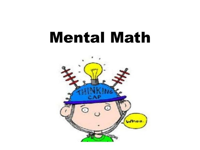 Mental Math Works on Math For Grade 5