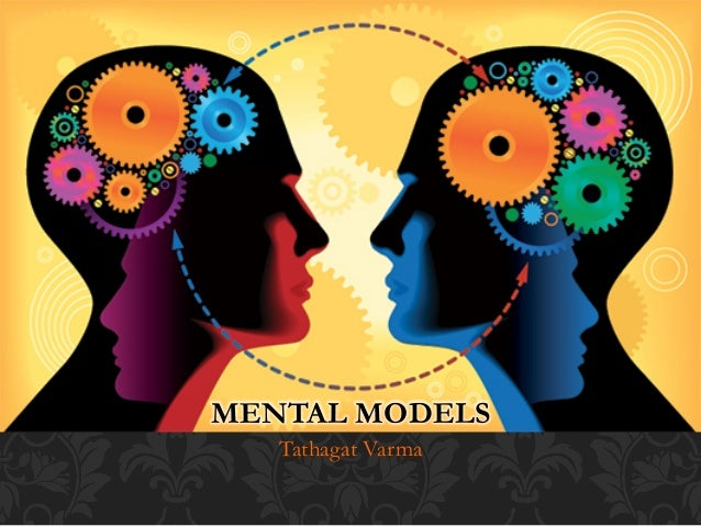 mental models A mental model is an explanation of someone's thought process about how  something works in the real world it is a representation of the surrounding world,  the.