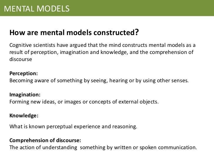 mental models