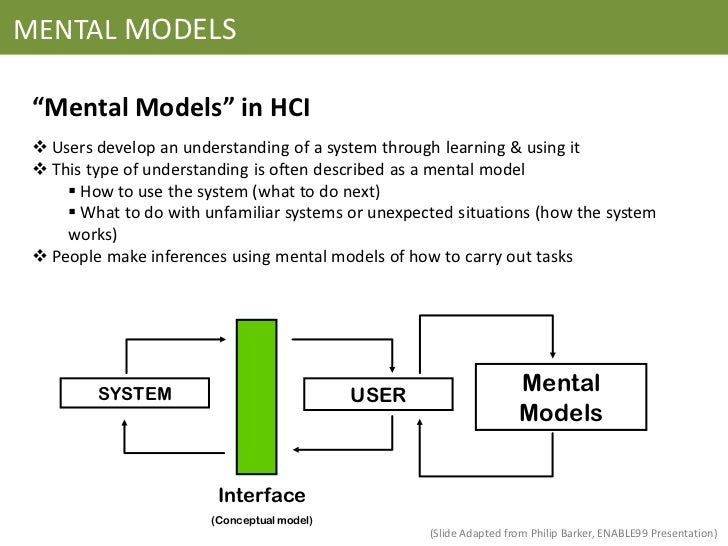 how to further develop a conceptual model