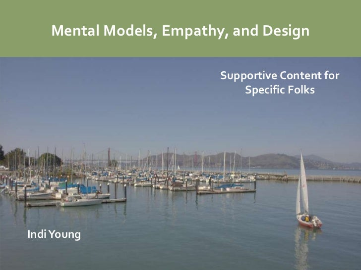 Mental Models, Empathy, and Design                          Supportive Content for                              Specific F...