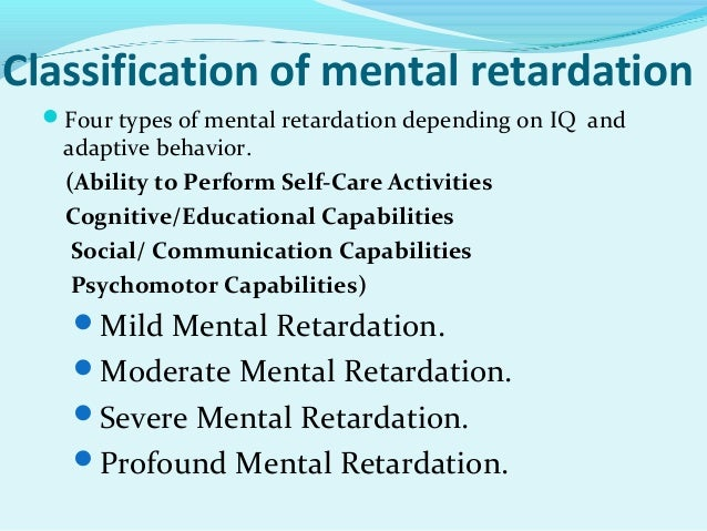 Mental Retardation Group Homes 53