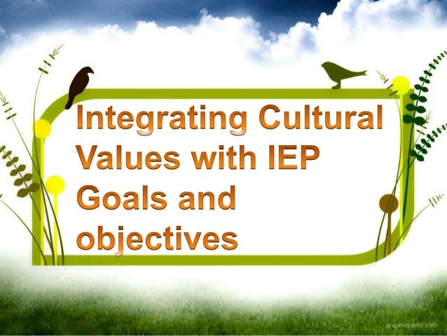 Culturally responsive special education services begin by integrating students and family's cultural values and beliefs wi...