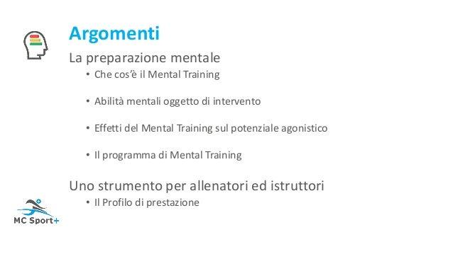 Mental training Slide 2