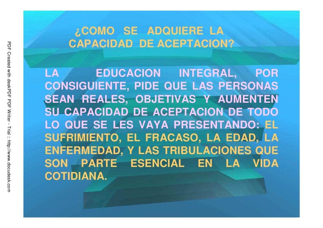 ¿COMO SE ADQUIERE LA                                                                            CAPACIDAD DE ACEPTACION?PD...