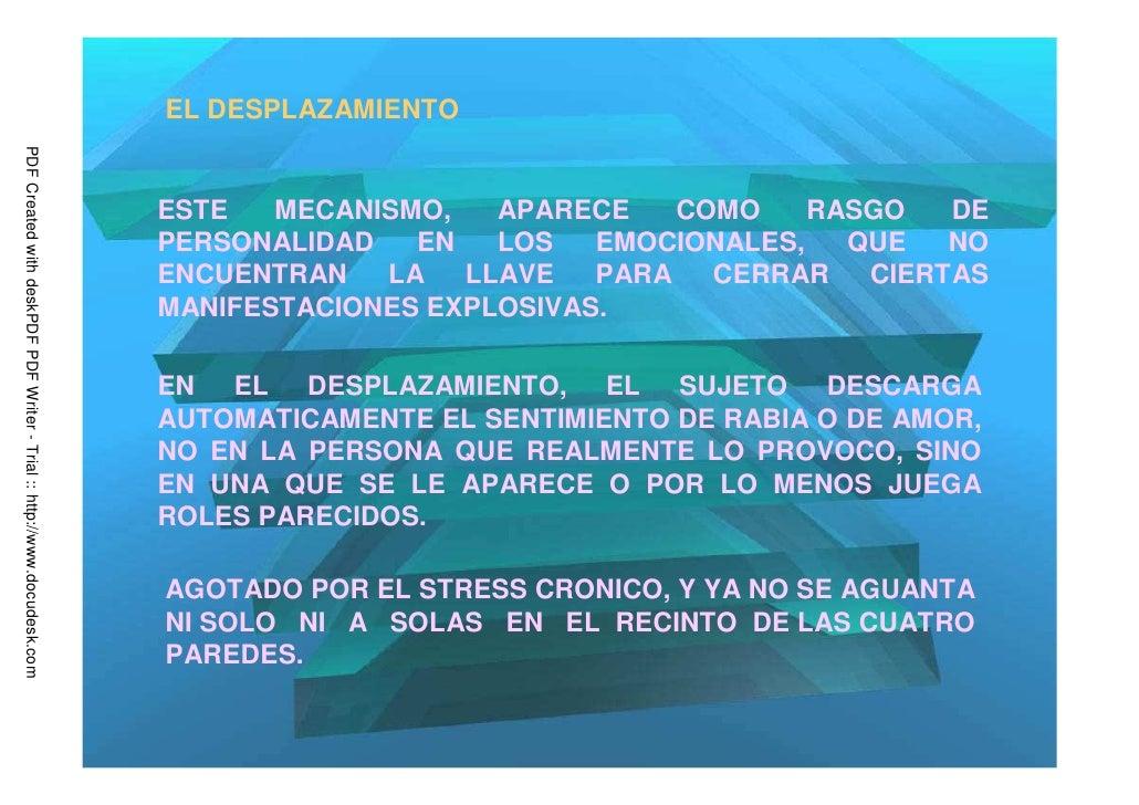 EL DESPLAZAMIENTOPDF Created with deskPDF PDF Writer - Trial :: http://www.docudesk.com                                   ...
