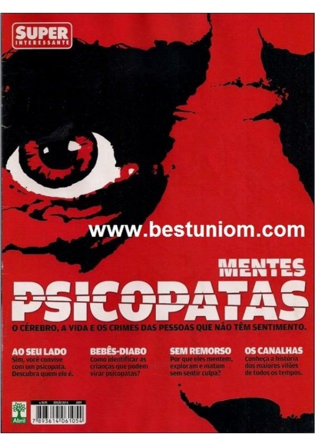 Mentes psicopatas