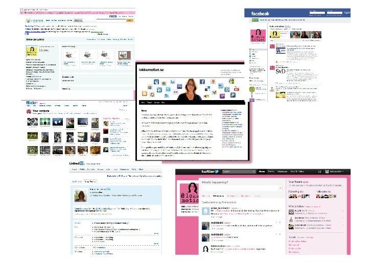 Sociala media för Mentor eget företag Slide 2