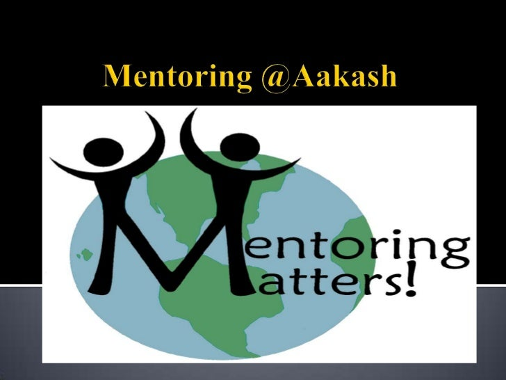     A mentor is an individual with    expertise who can help develop      the career of a mentee. The                 men...