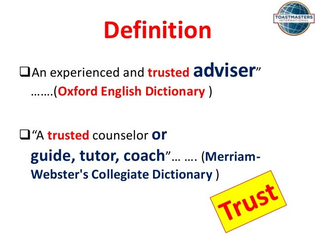 mentor definition oxford english dictionary