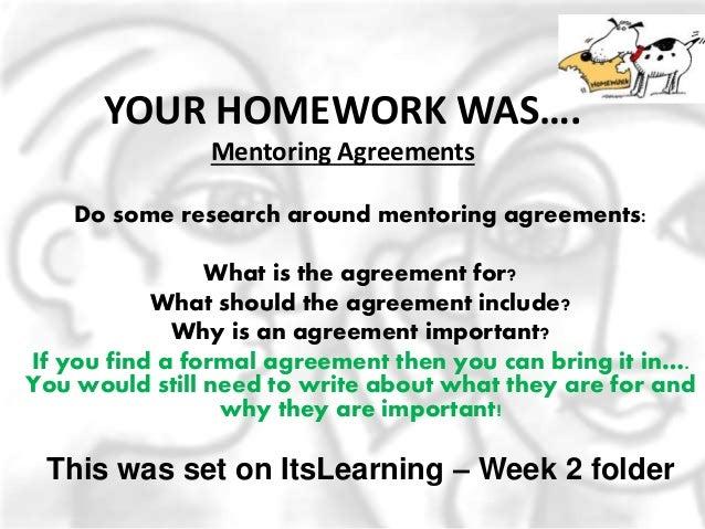 Mentoring Week 3