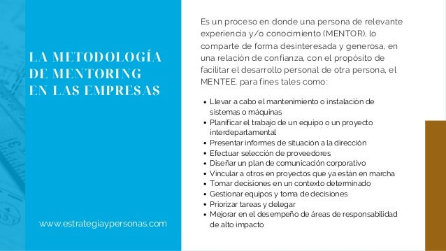Mentoring corporativo Slide 2