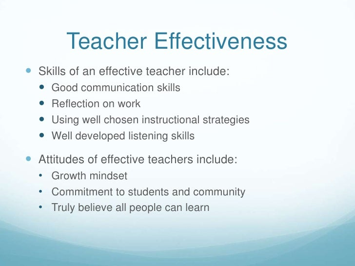 Mentoring Builds Leadership Skills and Teacher Effectiveness