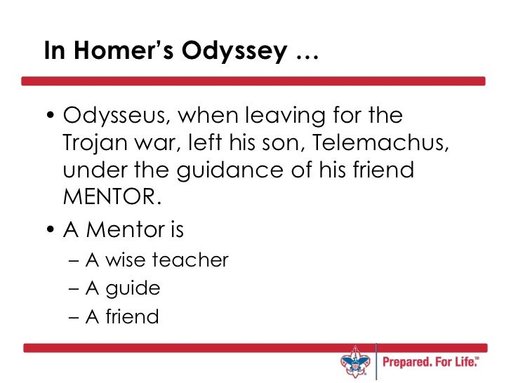 A comparison of the similarities and differences between telemachus and odysseus in the odyssey a po
