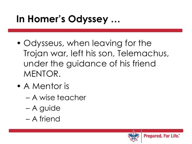 What are the major differences and similarities between Odysseus and Telemachus in the Odyssey?