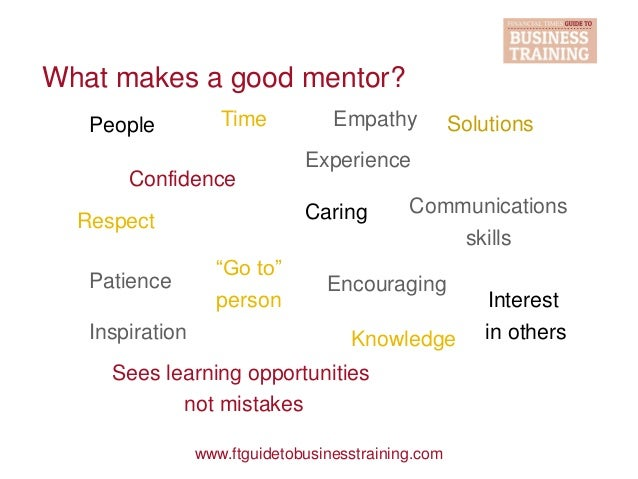 How to become a professional mentor