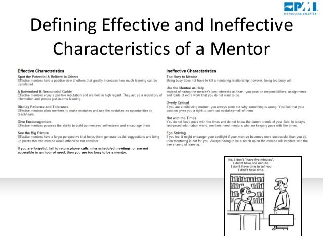 Mentoring and assessing