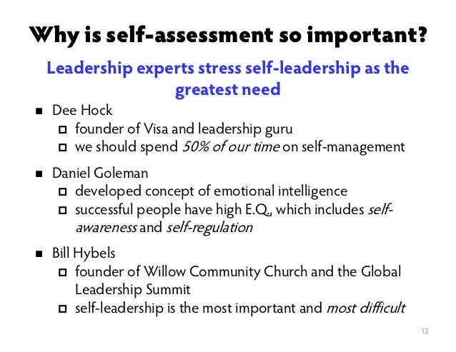 Leadership Self-Analysis Essay