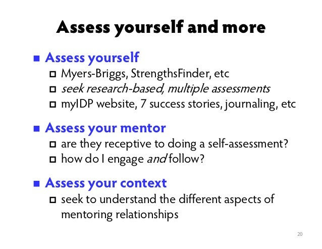 Assessing a Student's Level
