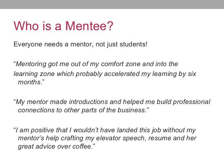Creating A Successful Mentor Program
