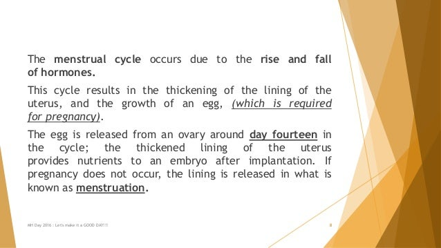 The menstrual cycle occurs due to the rise and fall of hormones. This cycle results in the thickening of the lining of the...