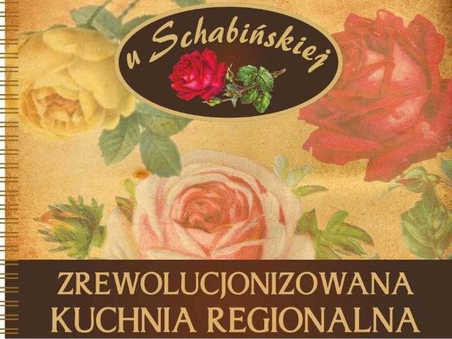 "Menu ""u Schabinskiej"""