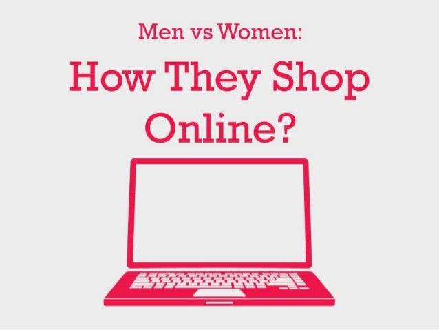 Men vs women how they shop online