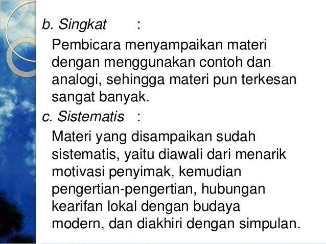 Contoh Ceramah Atau Pidato - Contoh 317