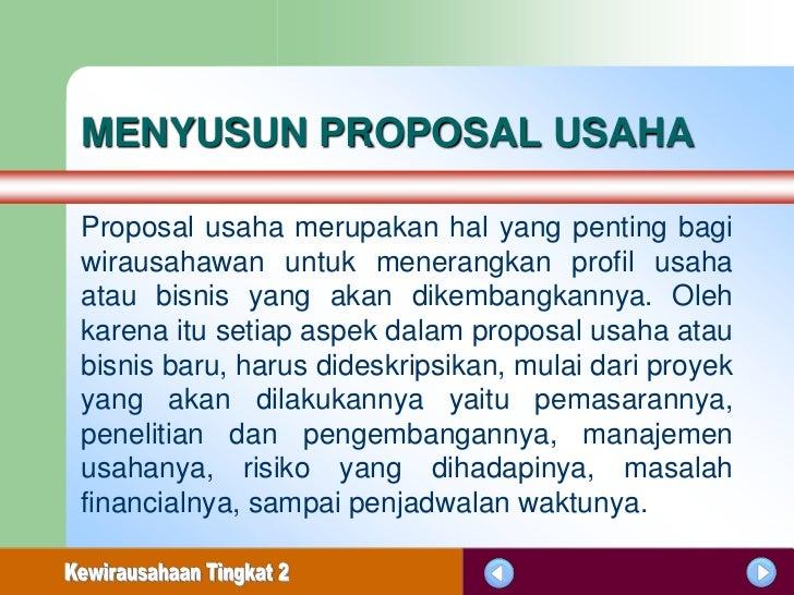 MENYUSUN PROPOSAL USAHA PDF