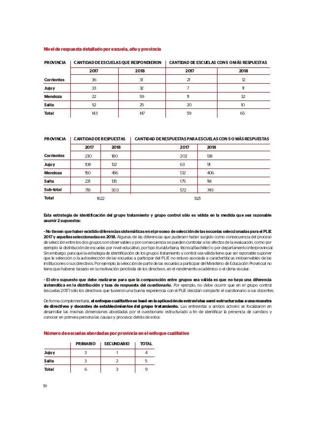 EVALUACIÓN DE RESULTADOS INTERMEDIOS 2018