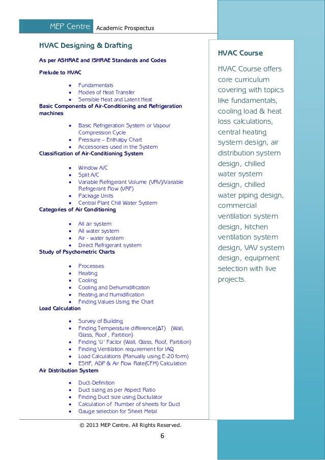 Mep courses academic programme brochure