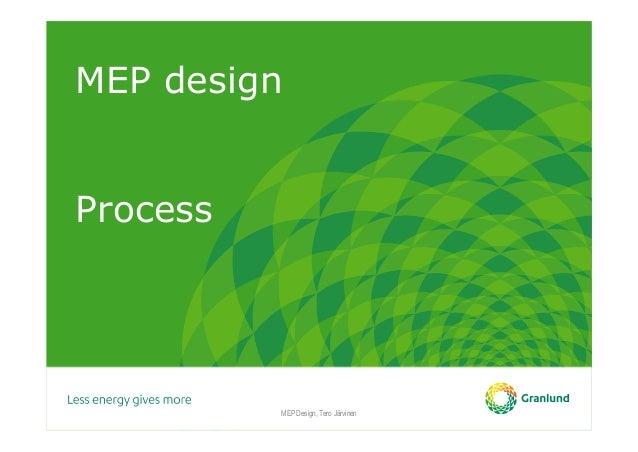 MEP design Process MEP Design, Tero Järvinen