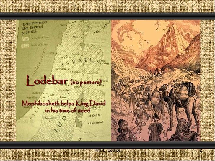 Mephibosheth From Dishoner To Honor Through A King21