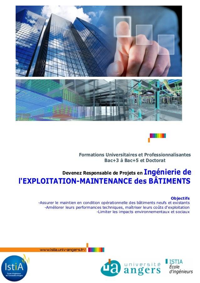 SSIAP3  Formations Universitaires et Professionnalisantes  Bac+3 à Bac+5 et Doctorat  Devenez Responsable de Projets en In...