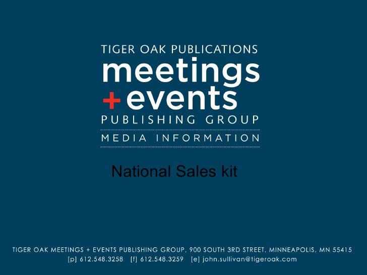 National Sales kit