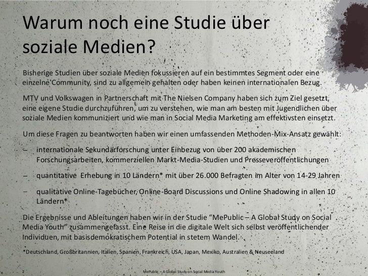 MePublic -  A Global Study on Social Media Youth Slide 2