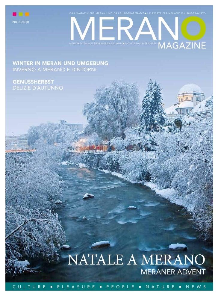 merano                     Das Magazin Für Meran unD Das BurggraFenaMt     la rivista per Merano e il Burgraviato   nr.2 2...