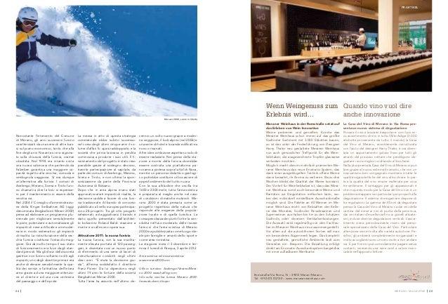 Merano Magazine Winter 20112012
