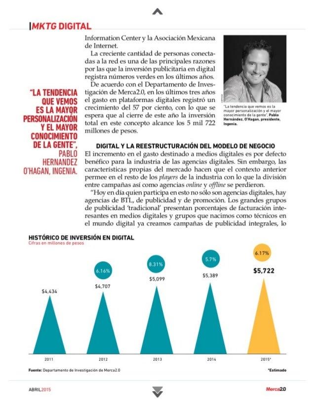 Ranking De Agencias De Marketing Digital México 2015 Slide 2