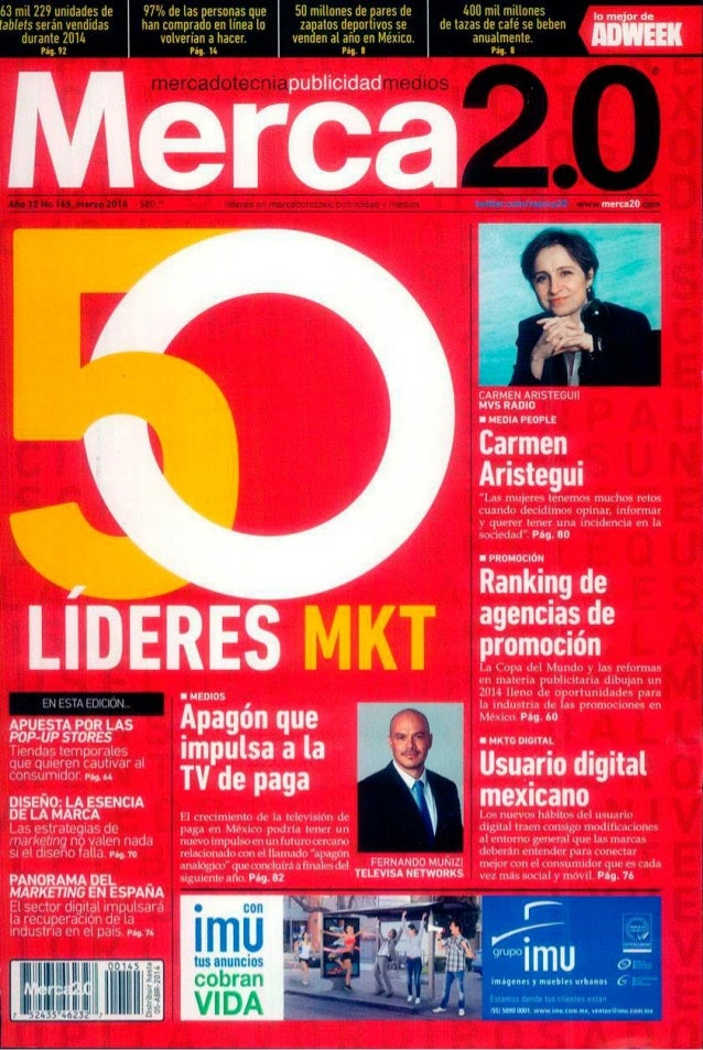 Juan Rivera, uno de los 50 líderes de la mercadotecnia en México