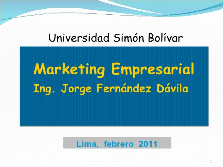 Mercadeo empresarial