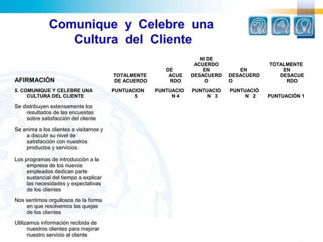 Comunique y Celebre una                 Cultura del Cliente                                                               ...