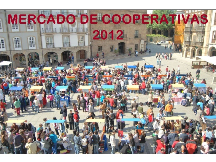 MERCADO DE COOPERATIVAS         2012