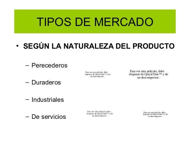 Definici n de mercado clientes bienes y servicios for Tipos de servicios de un hotel