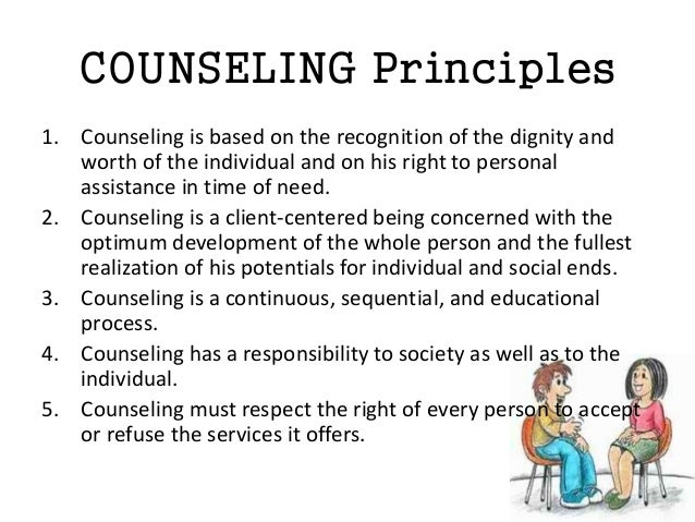 responsible counseling Students with individual education plans- the role of the school counselor district's comprehensive school counseling program is intended to meet the needs of all students the school counselor is responsible for adapting, as needed.