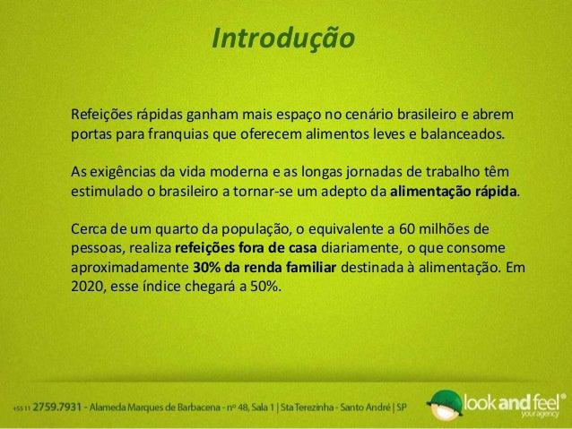 Análise do Mercado Alimentício no Brasil Slide 3
