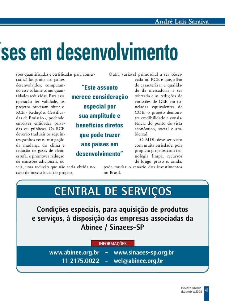 André Luís Saraivaíses em desenvolvimento  sões quantificadas e certificadas para comer-   Outra variável primordial a ser...