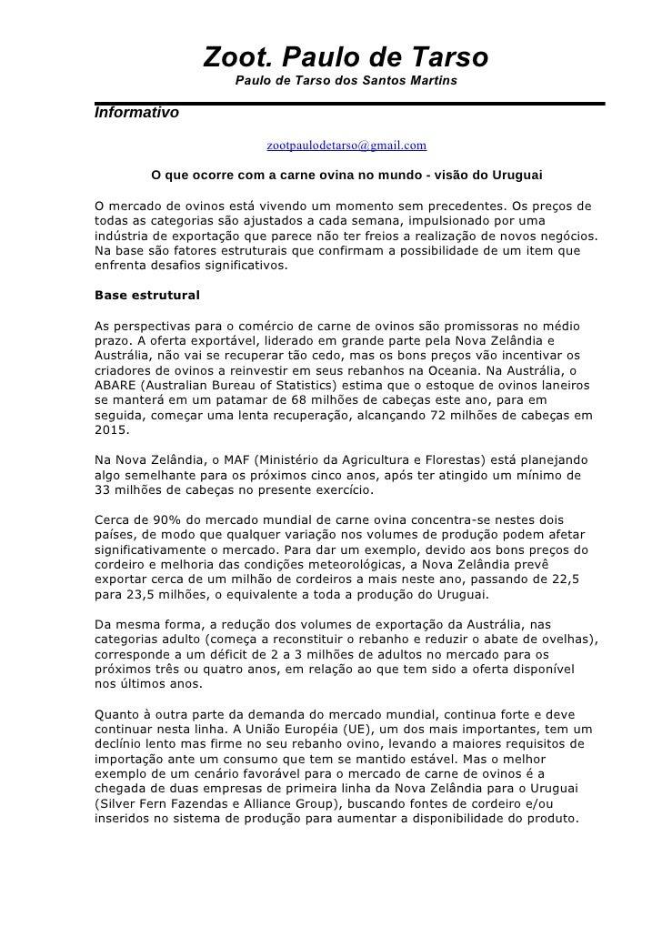 Zoot. Paulo de Tarso                       Paulo de Tarso dos Santos Martins  Informativo                             zoot...