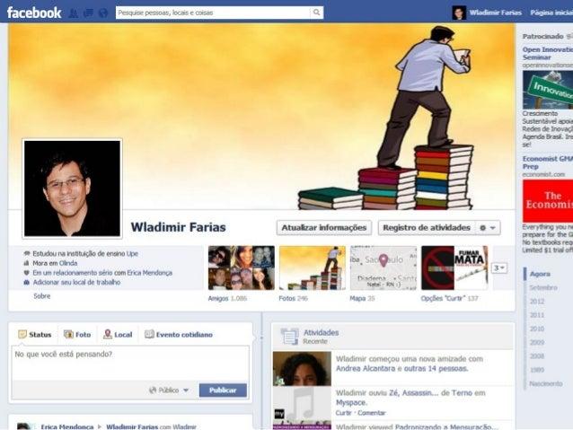 Quem sou eu?• Especialização em Gestão de projetos SociaisFACEBOOK  FAFIRE.• Bacharelado em Administração – UPE! – Gestão ...